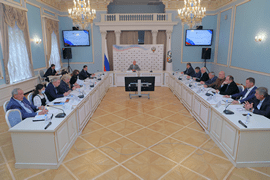 Олег Матыцин провёл заседание штаба по контролю за обеспечением подготовки спортивных сборных команд Российской Федерации для участия в Олимпийских играх