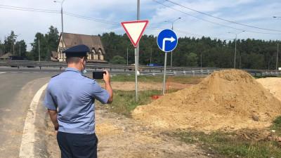 Почти 1,2 тыс. нарушений устранили вдоль вылетных магистралей Подмосковья