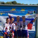 Подмосковная спортсменка в составе сборной России завоевала золото первенства Европы по гребному спорту