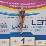 Подмосковная спортсменка завоевала 3 золотые медали на первенстве Европы по синхронному плаванию
