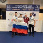 Подмосковная спортсменка завоевала три золотые медали на первенстве Европы по тяжёлой атлетике