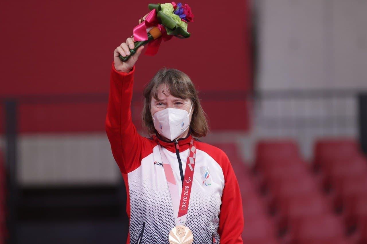 Подмосковная спортсменка завоевала вторую бронзу на Паралимпиаде в Токио
