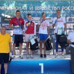 Подмосковные пловцы стали обладателями 7 медалей на чемпионате России по плаванию на открытой воде