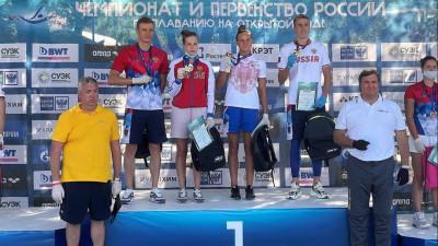 Подмосковные пловцы завоевали 7 медалей на чемпионате России по плаванию на открытой воде