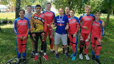 Подмосковные спортсмены завоевали 4 медали на всероссийских соревнованиях по велоспорту