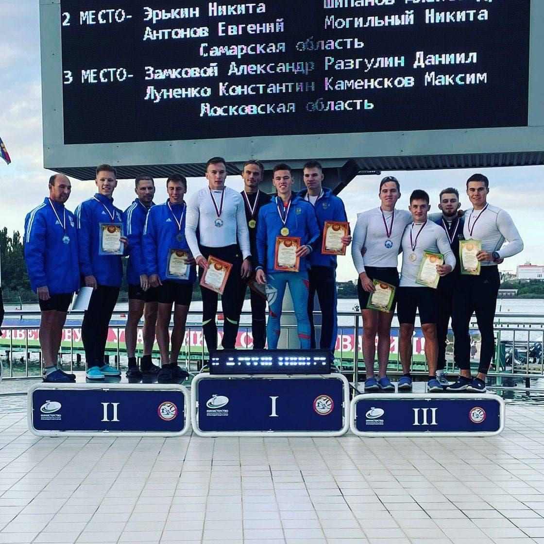 Подмосковные спортсмены завоевали золотые и бронзовые медали на Всероссийских соревнованиях по гребл...