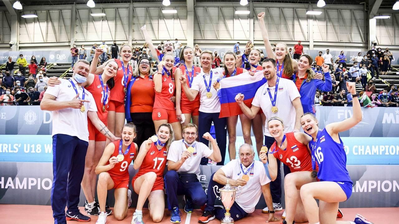 Подмосковные волейболистки победительницы юниорского чемпионата мира