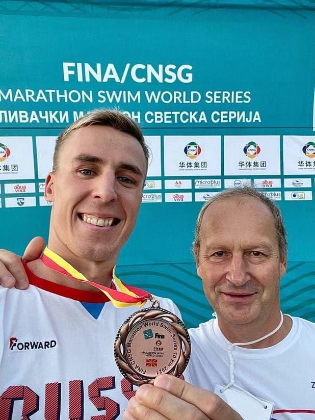 Подмосковный спортсмен завоевал бронзу международных соревнований по плаванию на открытой воде