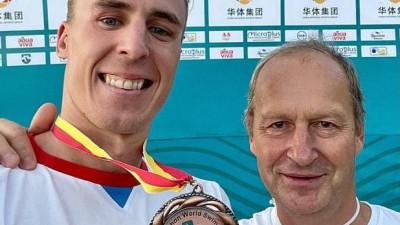 Подмосковный спортсмен завоевал бронзу международных соревнований по плаванию