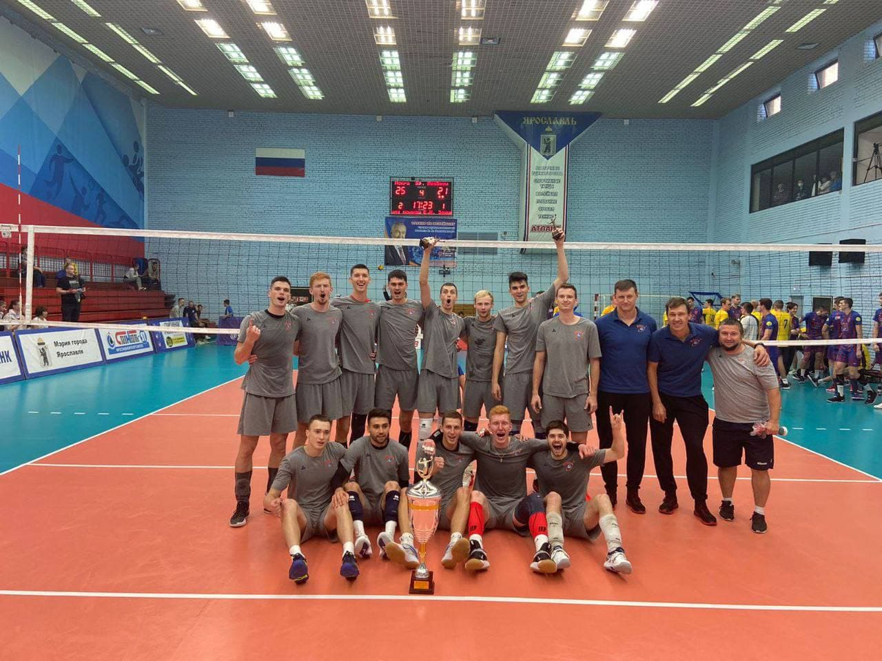 Подмосковный волейбольный клуб «Иска» выиграл предсезонный турнир в Ярославле