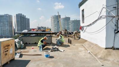 Порядка 500 крыш отремонтировали в Подмосковье с начала года