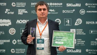 Представитель Подмосковья стал лауреатом премии «Живу спортом-2021»