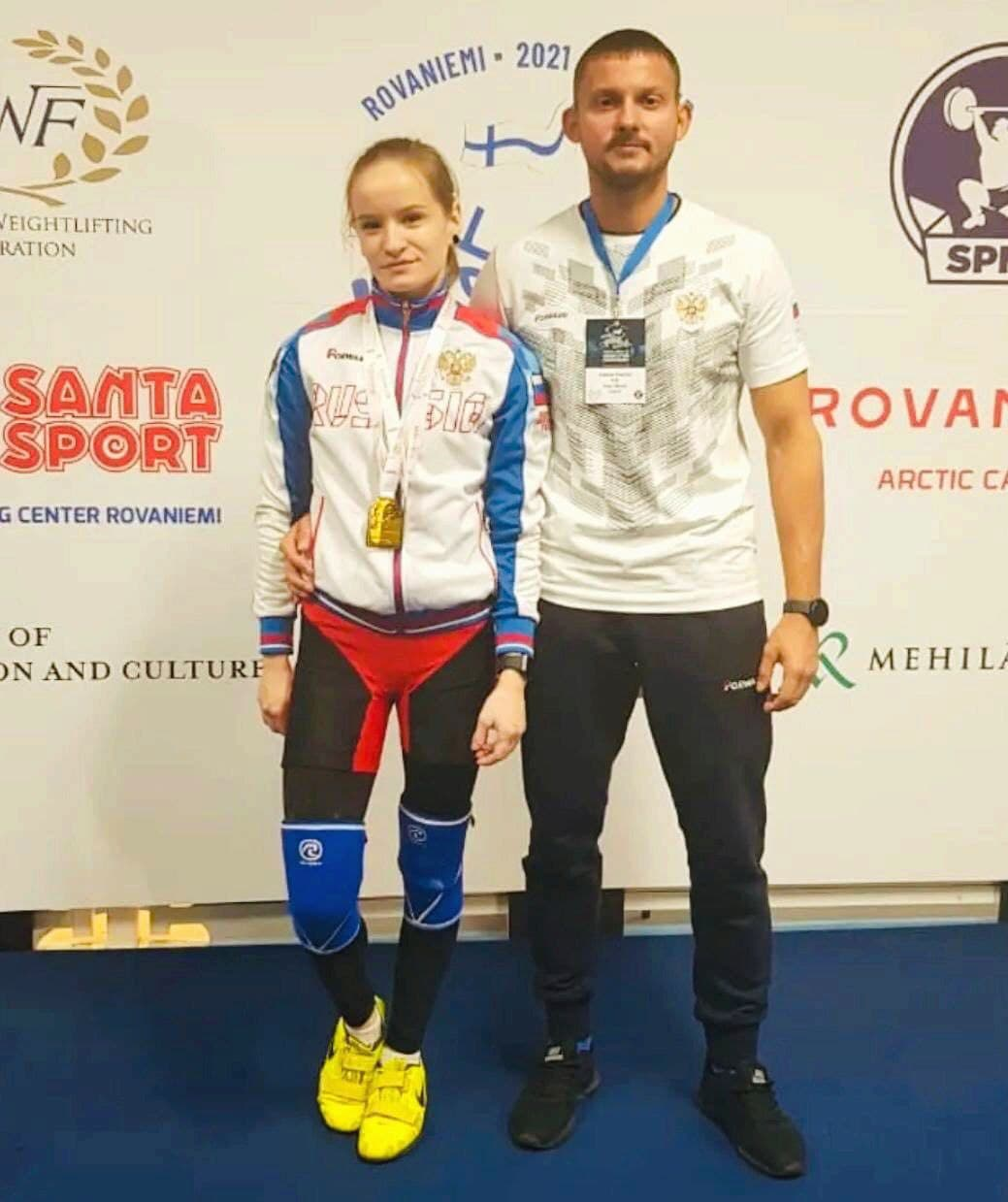 Представительница Подмосковья завоевала 3 награды первенства Европы по тяжелой атлетике