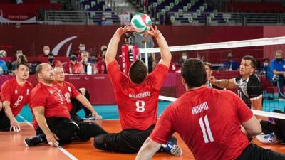 Подмосковные спортсмены стали серебряными призерами Паралимпиады по волейболу