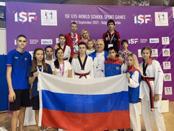 Российские школьники завоевали 38 медалей на первых в истории Всемирных школьных спортивных играх U-15