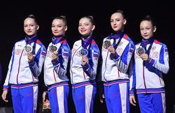 Российские спортсмены выиграли девять медалей на Чемпионате Европы по спортивной аэробике