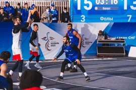 Сборная России лидирует в медальном зачёте I Игр стран СНГ