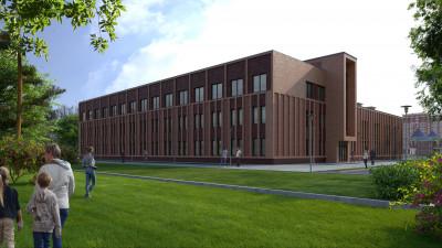 Школу с кирпичной отделкой фасадов построят в Щелкове