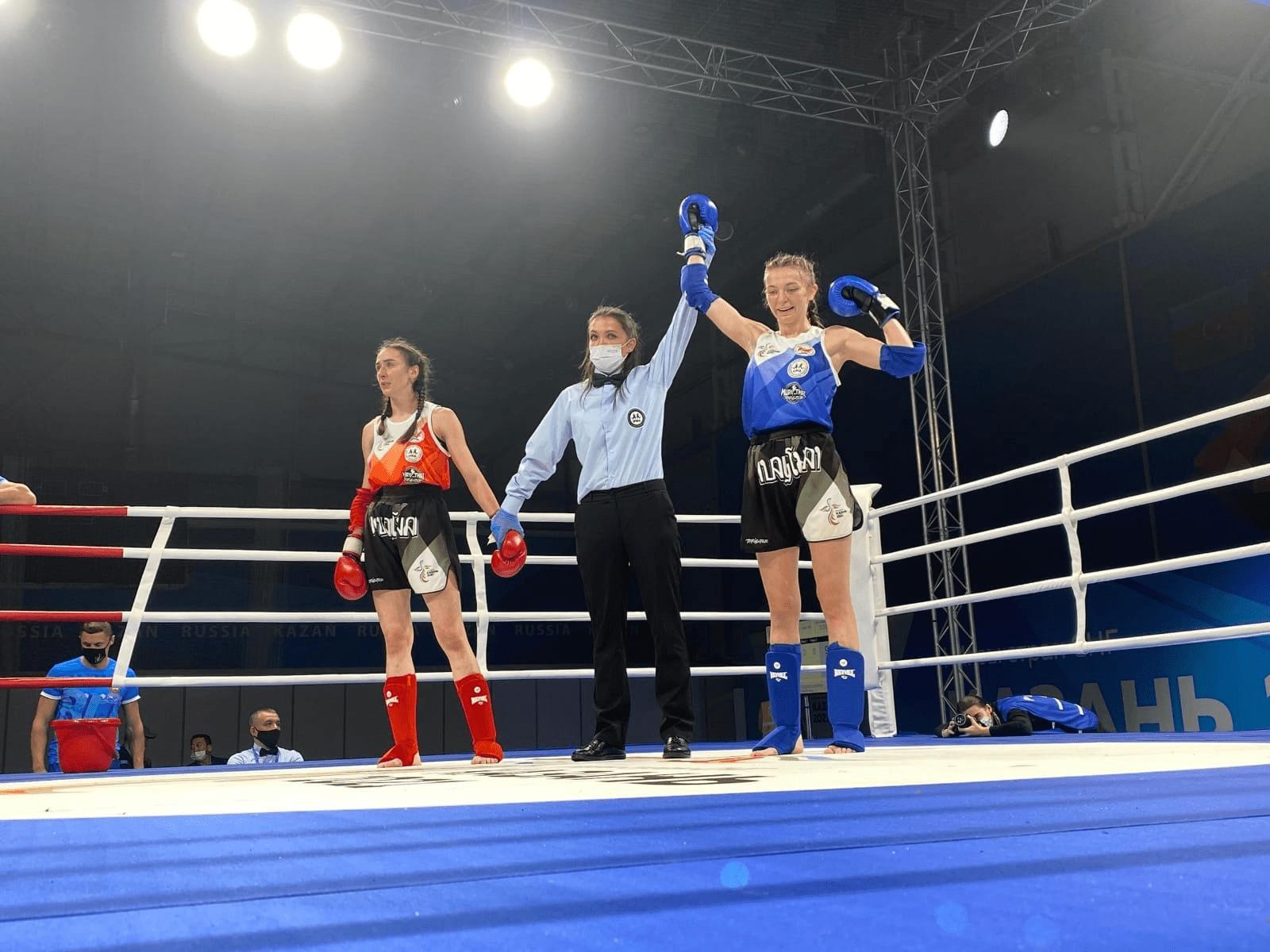 Спортсменка из Подмосковья стала победительницей I Игр стран СНГ по тайскому боксу
