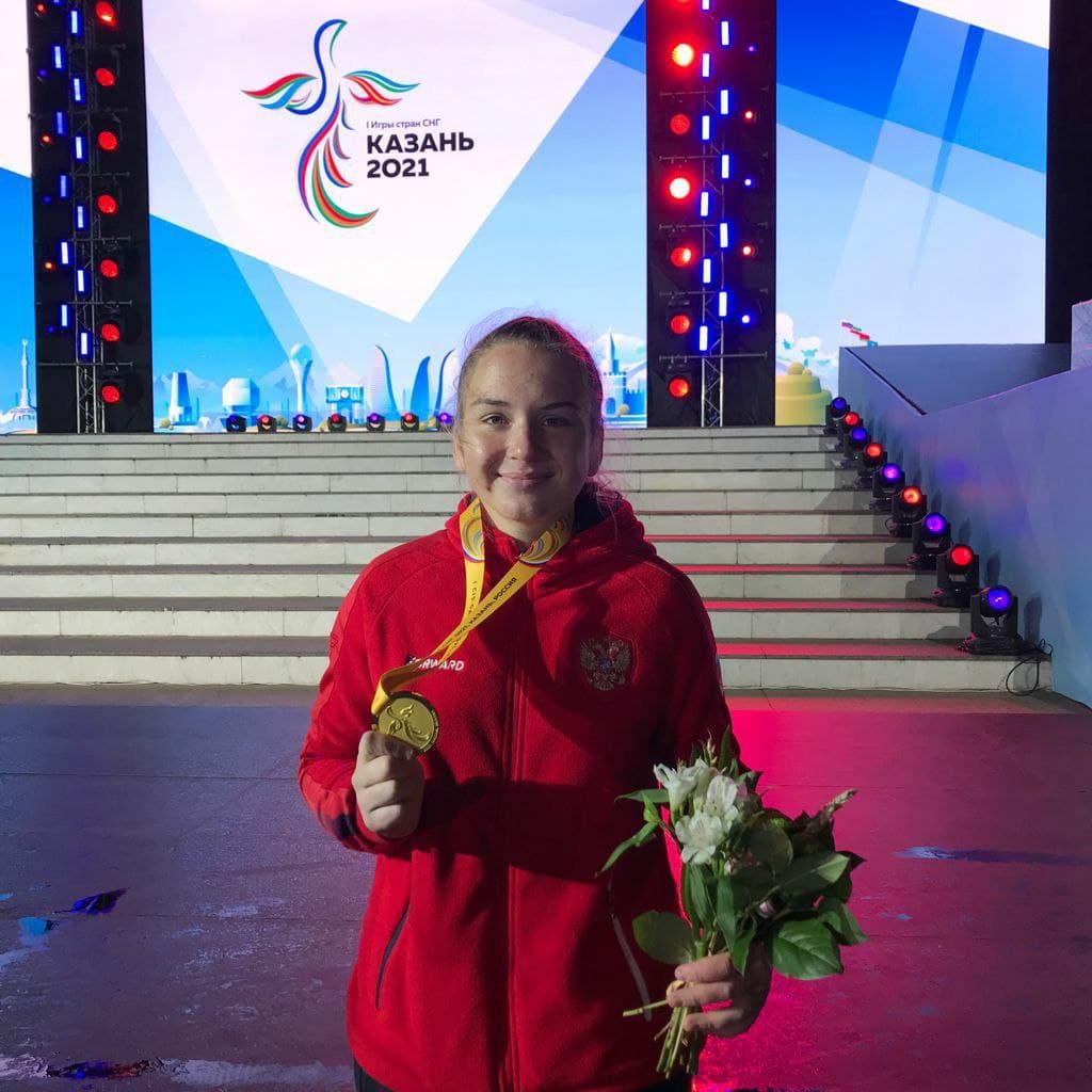 Спортсменка из Подмосковья стала победительницей первых игр стран СНГ по боксу