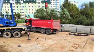 Строительство детского сада на 330 мест начали в Одинцовском округе