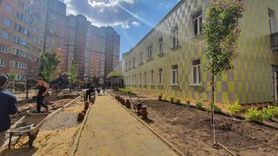 Строительство детского сада началось в Одинцове