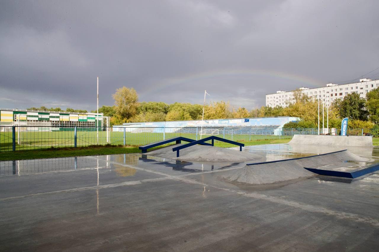 В Котельниках открыли первый скейт-парк