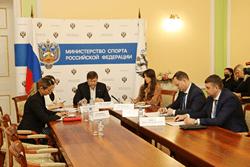 В Минпорте России обсудили вопросы повышения эффективности антидопинговой работы в общероссийских спортивных федерациях