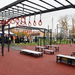 В Серпухове открыли новую воркаут-площадку