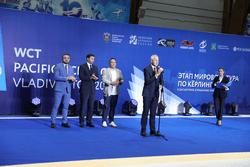 Во Владивостоке стартовал этап Мировой серии по кёрлингу среди смешанных пар