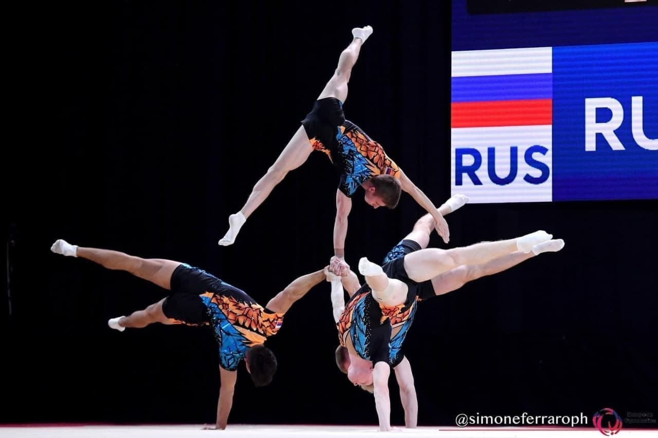 Акробаты из Подмосковья завоевали 9 медалей на чемпионате Европы