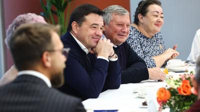 Андрей Воробьев поздравил участников проекта «Активное долголетие» с Днем пожилого человека
