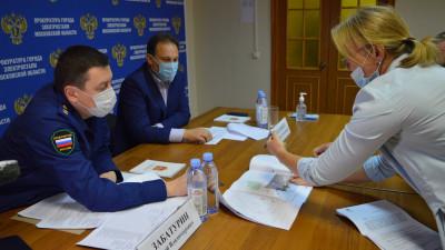 Бизнес-омбудсмен и прокурор Подмосковья встретились с предпринимателям в Электростали
