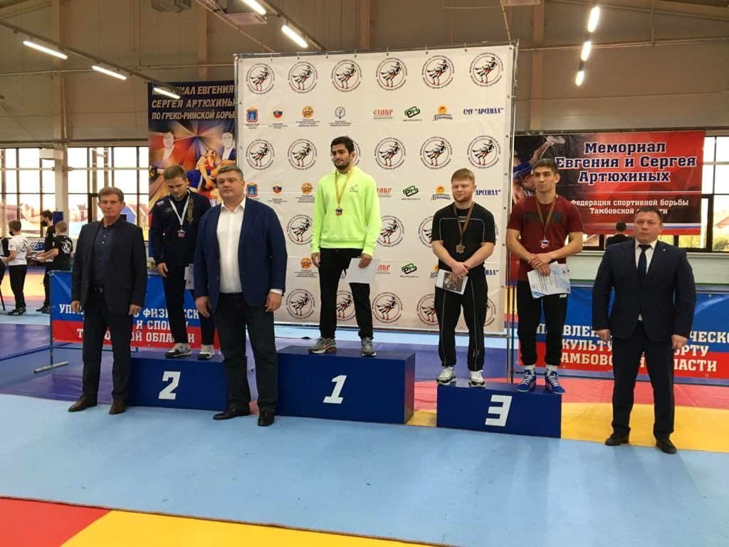 Борцы греко-римского стиля из Подмосковья завоевали 9 медалей на всероссийских соревнованиях