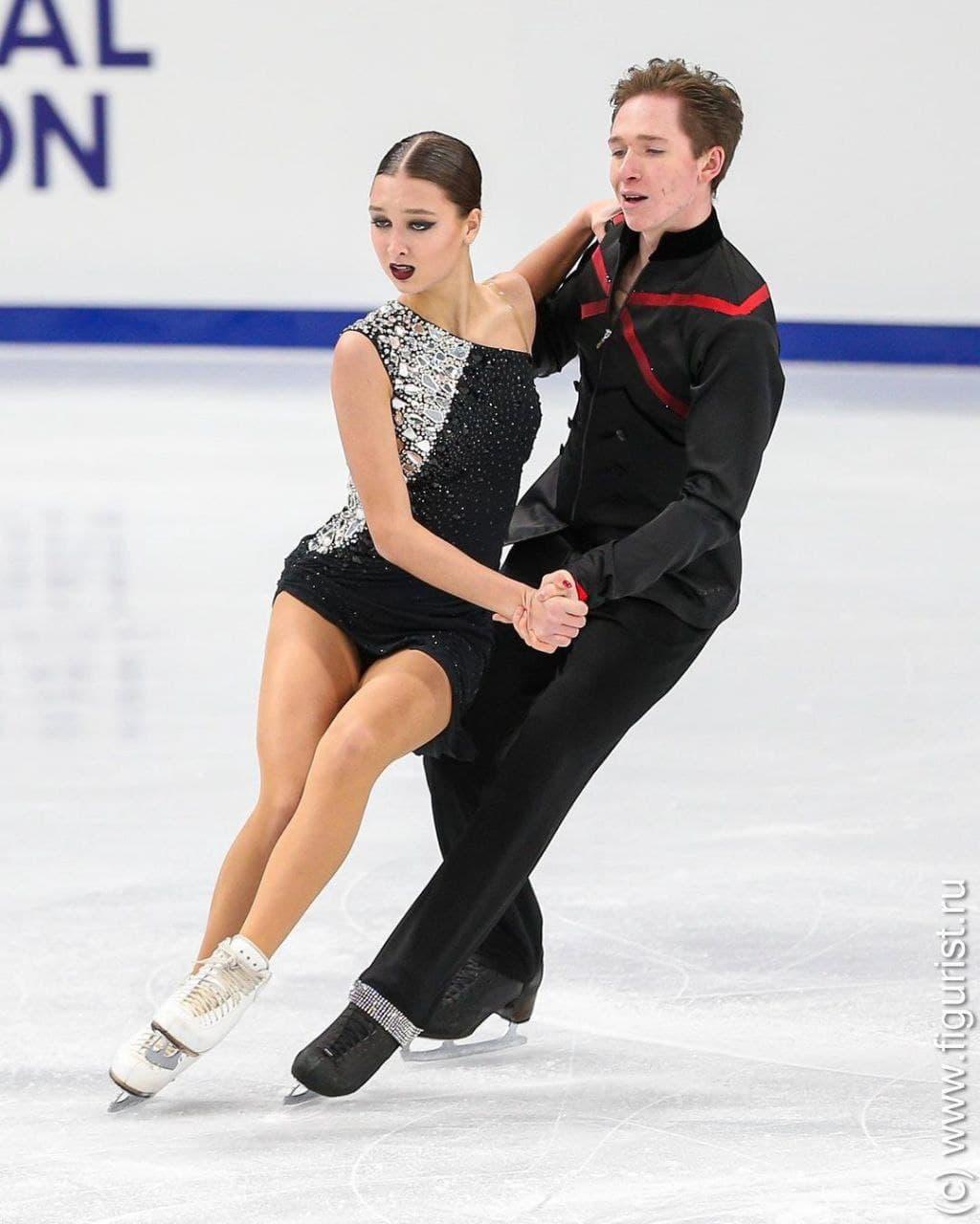 Фигуристы из Подмосковья стали лучшими на юниорской серии Гран-при в танцах на льду