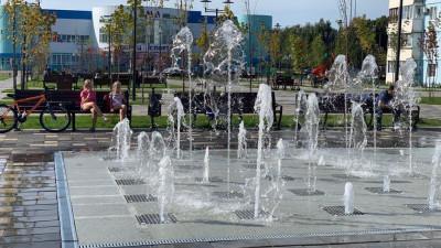 Новый фонтан открыли в Волоколамском округе
