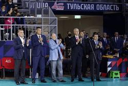 Олег Матыцин принял участие в открытии спортивного центра «Тула-Арена»