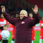 Олимпийский чемпион по футболу Никита Симонян отмечает 95-летие