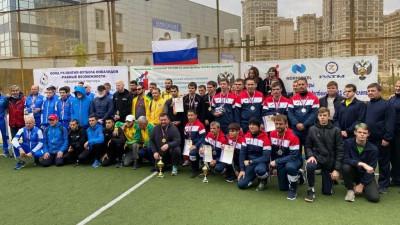 Подмосковные спортсмены победили на чемпионате России по футболу слепых