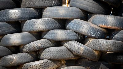 Порядка 300 кубометров шин собрали за 10 дней акции «Мегабак» в Подмосковье