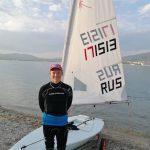 Представитель Московской области завоевал серебряную медаль на юниорском первенстве России по парусному спорту