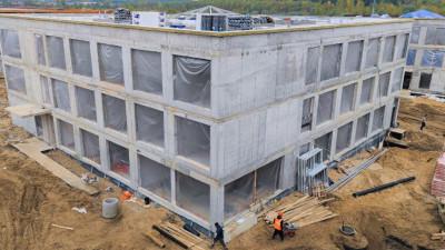 Строительство образовательного кластера в Раздорах завершено на 30%