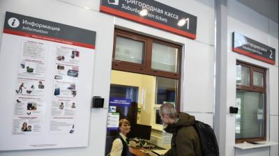 1 февраля 2018 года, Железнодорожная станция Усово, Московская область.