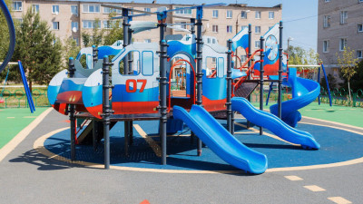 В Московской области в 2022 года установят 6 детских площадок по губернаторской программе